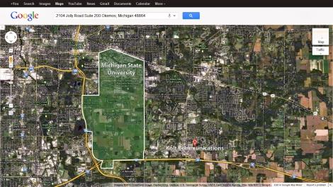 Map detail by Mackenzie Mohr. Source: Google Maps